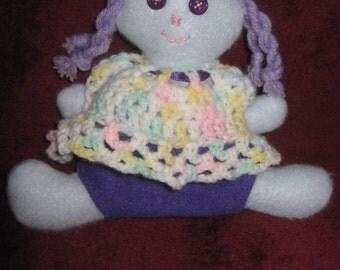 Fleece Doll in Blue