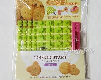 Pictogram cookie / clay mini stamp set