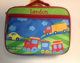 Personalized Stephen Joseph Train Lunchbox