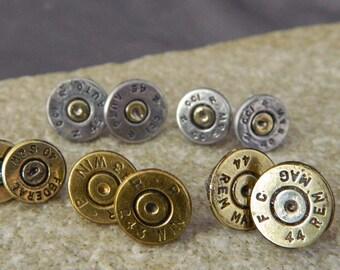 Bullet Shell Stud Earrings