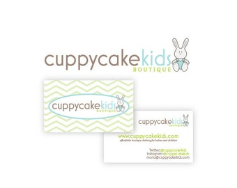 Custom Logo Package- Logo Design and Double Sided Business Card Design