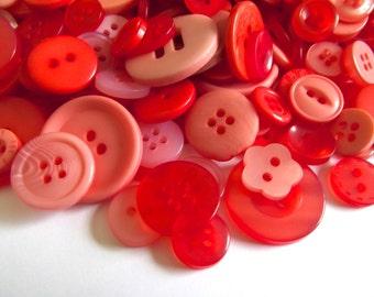 400 Orange Buttons Peach Buttons Tangerine Nectarine Melon Dark Orange Light Orange Coral for Sewing Crafting Crafts Mixed Media Ora01