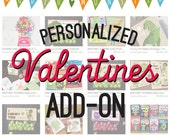 Personalized Valentines add-on