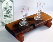 Knotty and Nice BLACK WALNUT small serving board