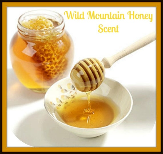 WILD MOuNTAIN HONEY Scented Soy Wax Melts - Soy Tarts - Bees - Nature - Food - Wildflowers - Floral - Highly Scented & Hand Poured In USA