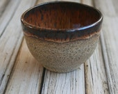 Yunomi Tea Cup Ceramic Cup Raw Stone Cup Handmade Ceramic Pottery Teacup Made in USA Ready to Ship