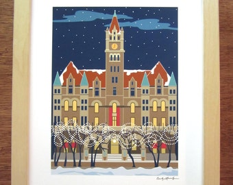 Landmark Center, Saint Paul, Minnesota, Giclee Print