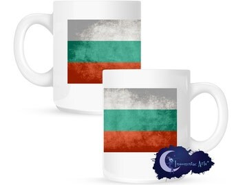 Flag of Bulgaria 15 oz Coffee Mug