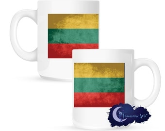 Flag of Lithuania 15 oz Coffee Mug