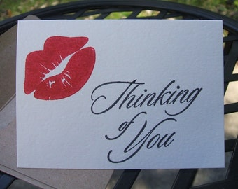 Thinking Of You mini- notecards