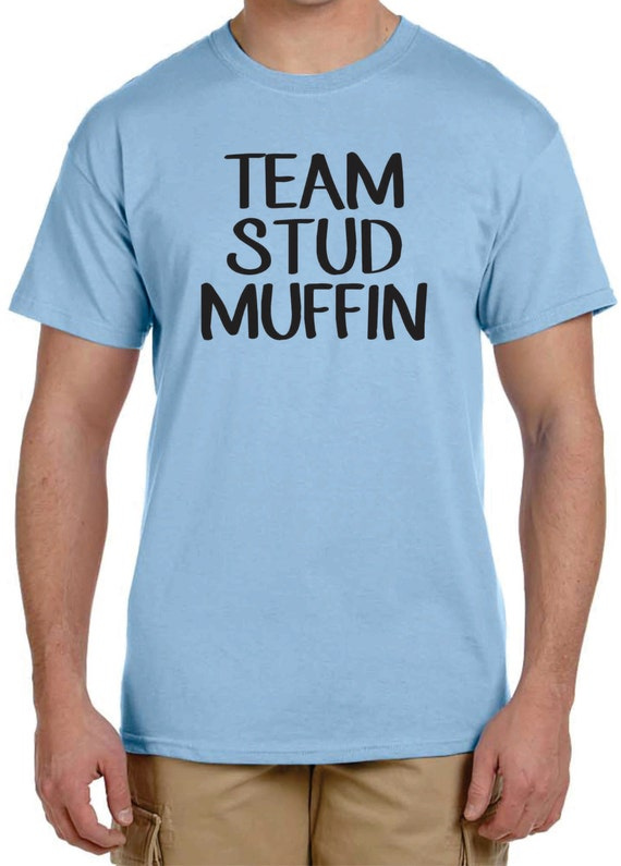 Gender Reveal t-shirt ideas Team Stud Muffin or Team Cupcake