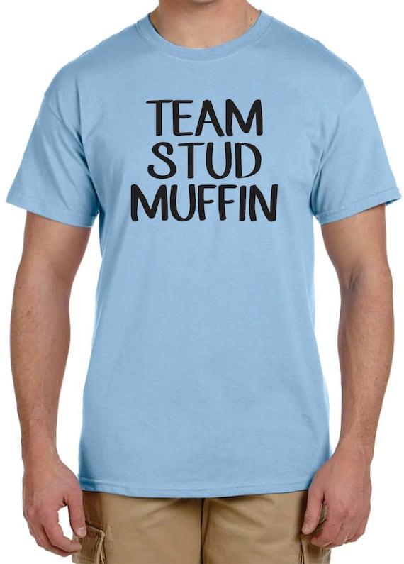 Gender Reveal t-shirt ideas Team Stud Muffin or Team Cupcake