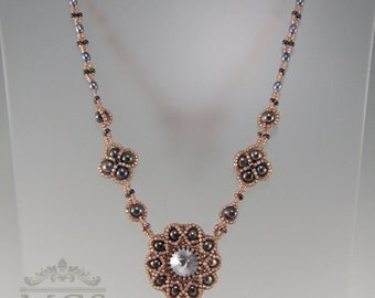 Valencia Necklace - Beading Pattern/Tutorial Downloadable PDF