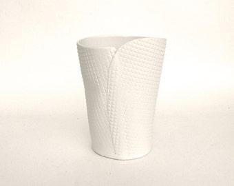 hand built porcelain container  ...   vessel