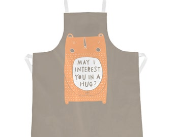 May I Interest You In A Hug - Apron (AP10)