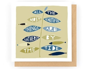 All The Most Beautiful Things - Greeting Card (1-7C)