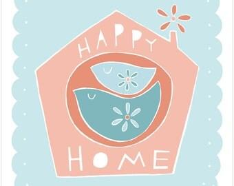 Happy Home - Fine Art Print
