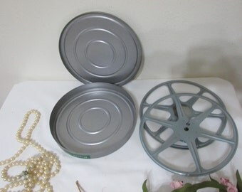 Reel and Container Metal 16MM From 1962