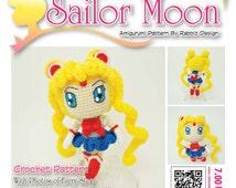 Sailor Moon Amigurumi Patron Gratis : Popular items for sailor moon patterns on Etsy