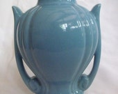 "Beautiful Sky Blue Abingdon? 7.5"" Table/Boudoir Lamp Base"