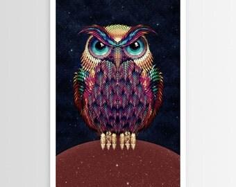 Ali Gulec's Owl 2 POSTER