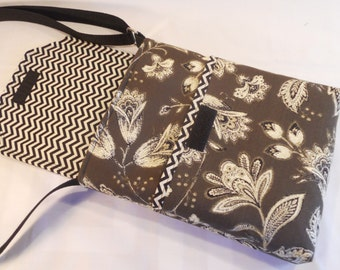 "The ""LIZZIE"" Hipster Crossbody Messenger Bag...Will Hold the Apple iPad, iPad Mini and all Kindles"