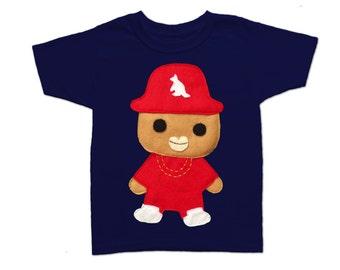 Rad Rapper - Kangaroo - Toddler T-Shirt [Navy]