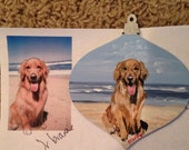 Custom Painted Ornament of Your House or Favorite Photo