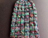 Cabled Adult Hat - handmade in Elliott Bay - READY TO SHIP