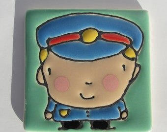 2.5 Square Policeman