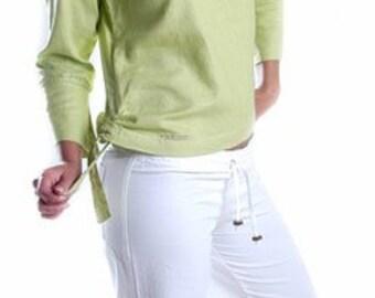 SOLUNA waiststring cotton pants