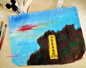 Lion Rock tote bag