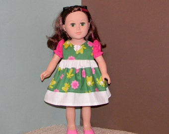 18D-09  ) 18 inch Doll (My Life Doll Clothes)