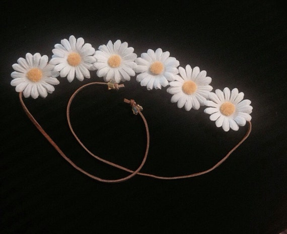 Daisy Flower Crown Headband
