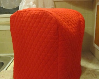 Red Coffee Maker Cover Ready To Ship