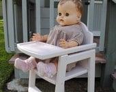 Doll High Chair - Ready to ship