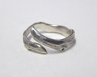 Woodland Silver Forest ring, made in sterling silver .925 (ring size 5 to 12)
