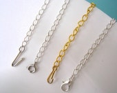 Chain Extender, Necklace Extender, Necklace Lengthener, Choker Extender, Bridal Jewelry, Jewelry Accessories, Necklace Extension