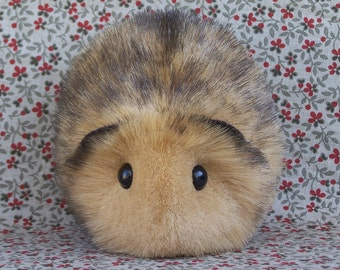 Honey Blonde Toy Guinea Pig Cute Handmade Plushie