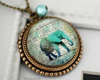 African Summer Nostalgic Necklace