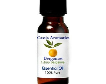 Bergamot Essential OIl Certified Pure Grade 100% Pure choose your size
