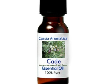 Cade (Spain) Extra Essential Oil Certified Pure Grade 100% Pure choose your size