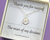 Mother Of The Groom Gift - Gift Boxed Jewelry Thank You Gift