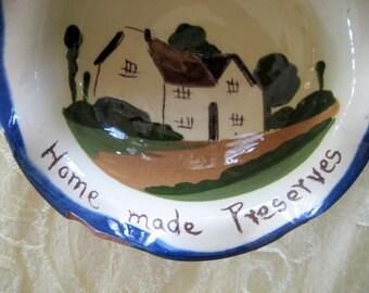 Vintage Torquay Pottery Divided Dish  Circa 1905