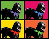 Custom 8 x 10 POP ART Design of Your Pet - Choose Any Pet, Any Picture You Want! I'll Turn It Into a Pop Art Masterpiece!
