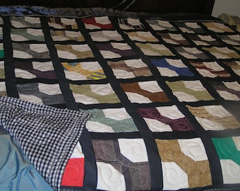 Full size bow tie quilt