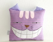 Cheshire Cat cushion