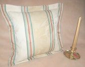 Waverly Pillow Waverly Capulet Stripe With Two Different Color Combinations
