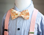The Beau- boy's solid suspenders- nickel hardware (36 shades to choose from)