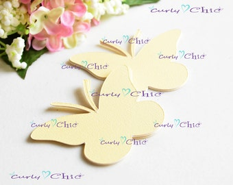 "32 Butterfly  II Tag Size 3.00""  -Butterflies Labels -Paper Butterflies Tags -Custom Paper Butterflies die cuts -Paper Butterflies Labels"